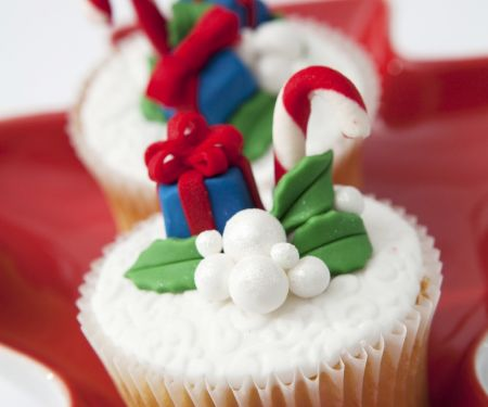 Christmas Parcel Muffins