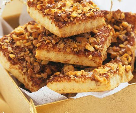 Cinnamon-Nut Bars