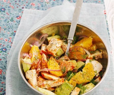 Citrus and Chicken Bowl