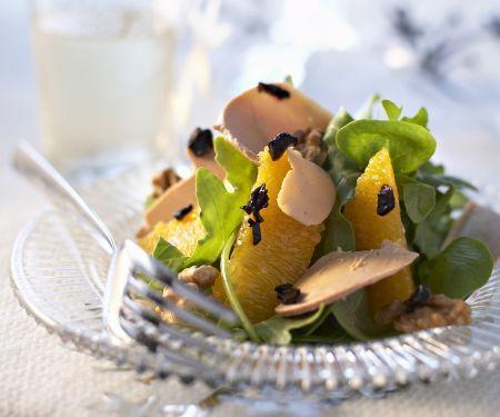 Citrus and Duck Liver Salad