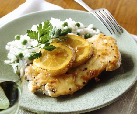 Citrus Chicken with Parsley