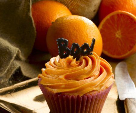 Citrus Fruit Halloween Cakes