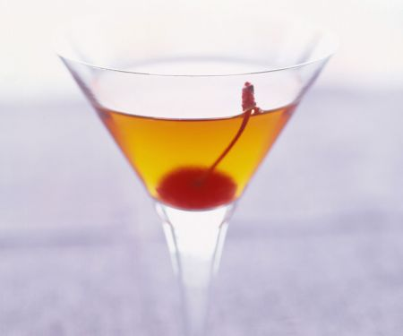 Classic Manhattan Cocktail