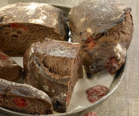 Cocoa Candied Fruit Loaf