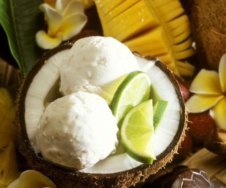 Coconut and Lime Ice Cream