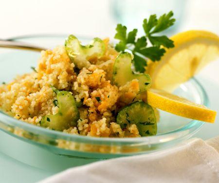 Couscous Lentil Salad