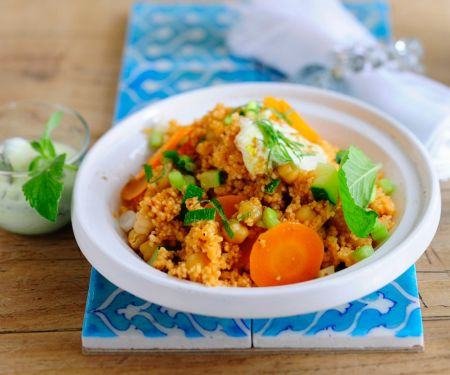 Couscous with Yogurt and Vegetables