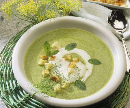 Creamy Broccoli-Zucchini Soup