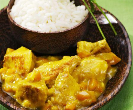 Creamy Spiced Turkey Curry