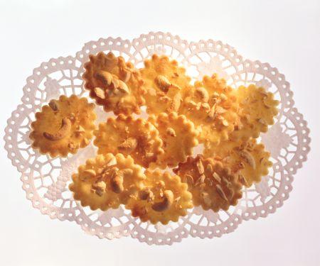 Crème Fraîche Cashew Cookies