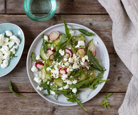 Cucumber-Radish Salad with Feta