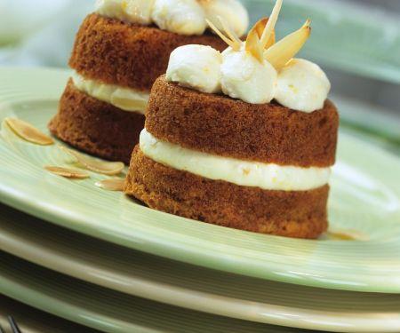 Cupcakes with Quark Cream