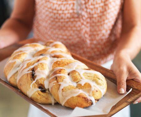 Date Bread Braid with Cinnamon