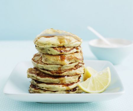 Diet Drop Scones with Syrup