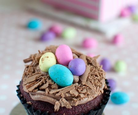 Easter-time Individual Decorated Cakes