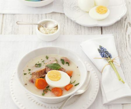 Egg Soup for Easter