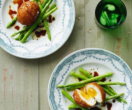 Eggs Fried with Asparagus