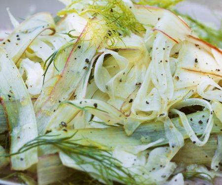 Fennel and Rhubarb Salad