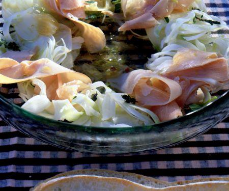 Fennel Salad with Ham