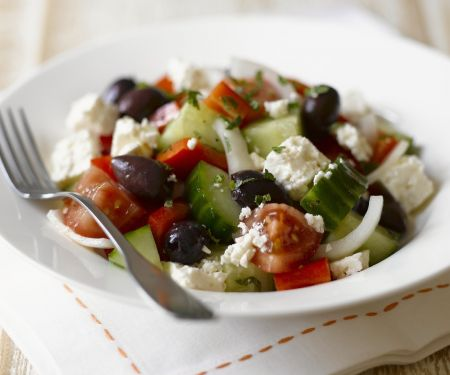 Feta and Olive Salad Bowl