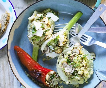 Filled Fennel and Vegetables
