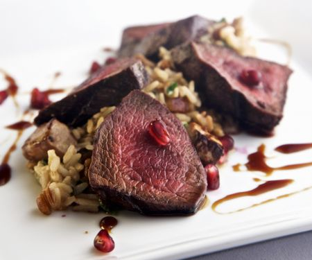 Fillet Mignon with Simple Risotto