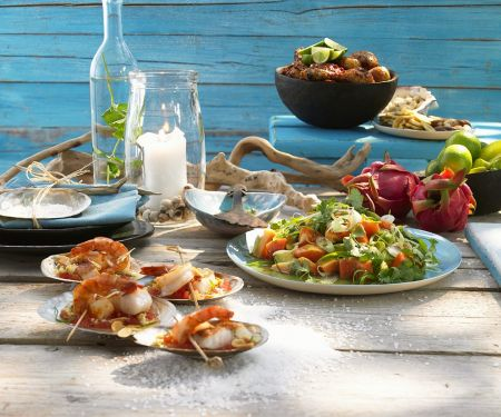 Fish and Seafood Medley