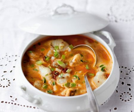 Fish Soup with Paprika