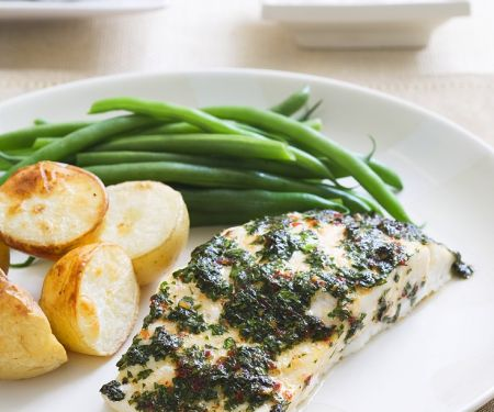 Fish with Herb Crust