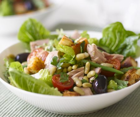 Flaked Fish and White Bean Bowl