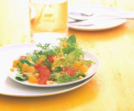 Florida Salad with Oranges and Grapefruits