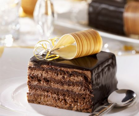 French Chocolate Mousse Gateau