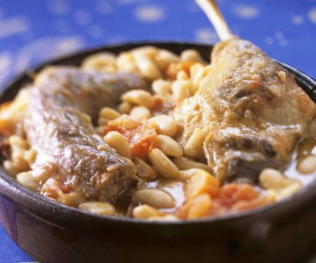 French Meat and Bean Casserole