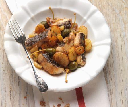 Fried Catfish and Potatoes