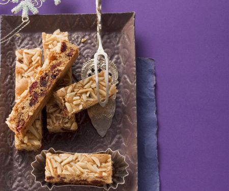 Fruit and Almond Slices