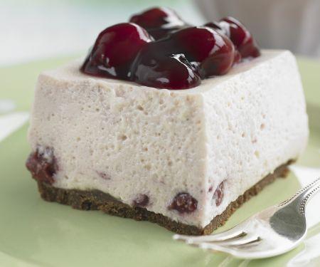 Fruity Cream Cheese Cake Slice