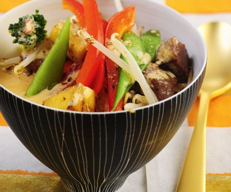 Fruity Thai Beef Curry