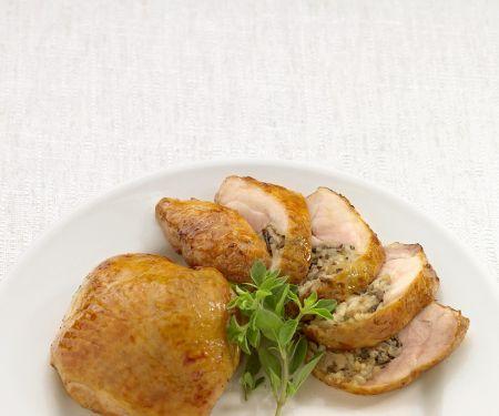 Golden Chicken Pieces with Stuffing