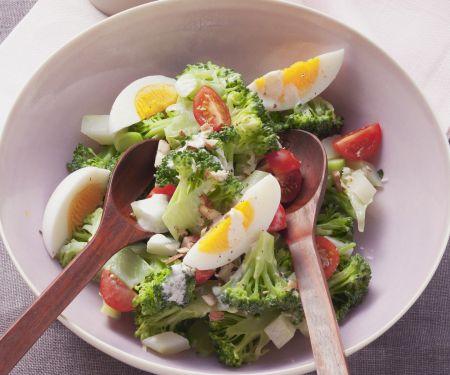 Green Floret and Egg Bowl