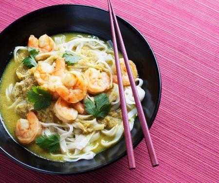 Green Shrimp Curry