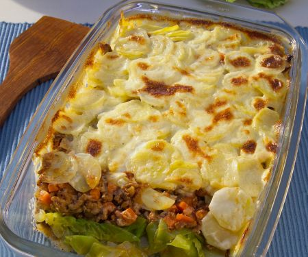 Ground Meat and Vegetable Gratin