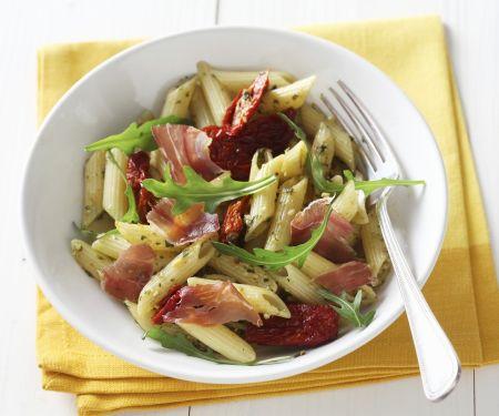 Ham and Arugula Pasta Bowl