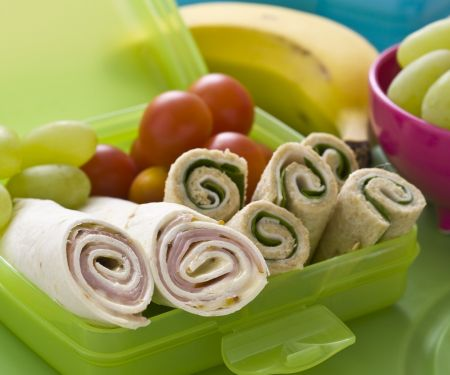 Ham and Cheese Tortillas