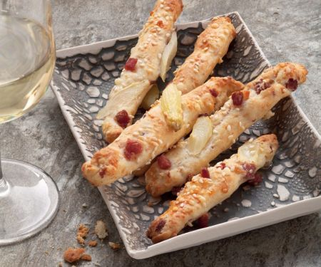 Ham, Cheese and Asparagus Snacks