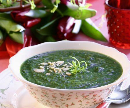 Healthy Spinach Bisque