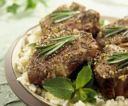 Herby Lamb Steaks