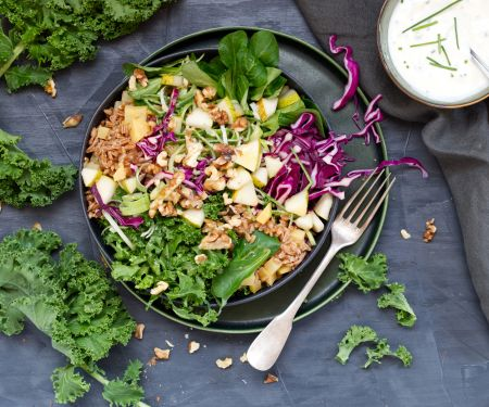 Immune Booster Kale Buddha Bowl