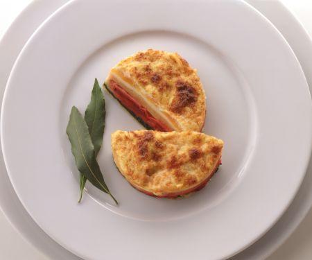 Individual Vegetable Lasagnas