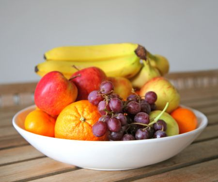 Swapping packaged food for fresh fruits and vegetables is a great place to start!