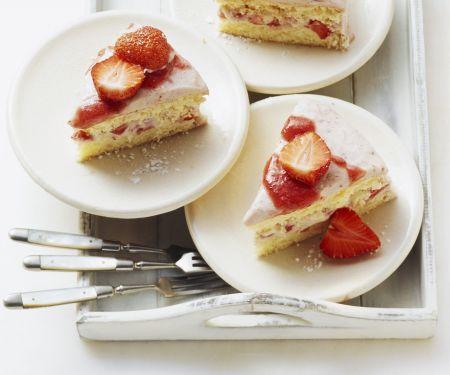 Italian Strawberry Cake